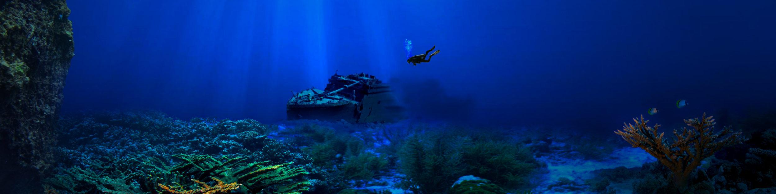 Apprendre la plongée en eaux profondes et sur épaves